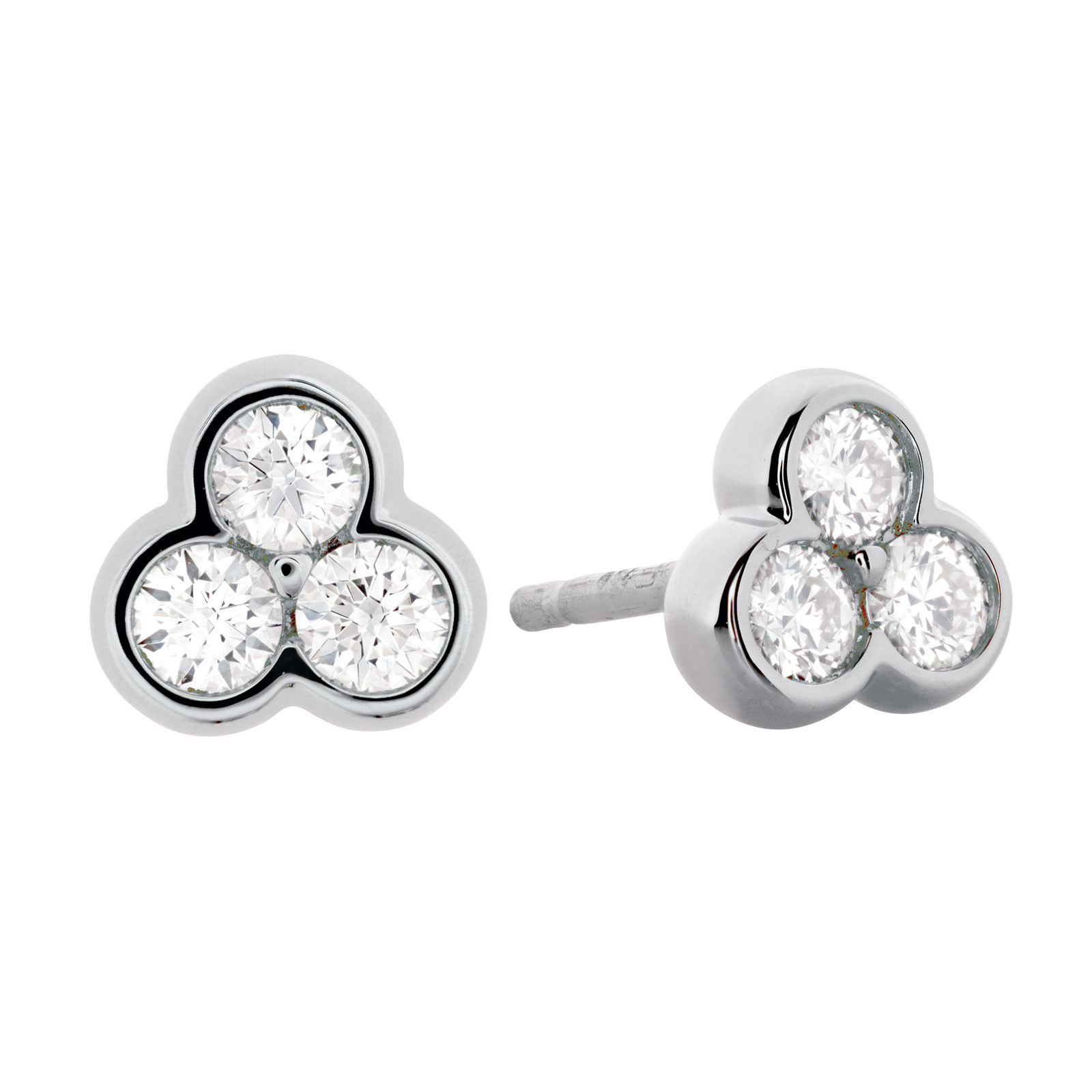 New Hearts On Fire® 0.34 CTW Diamond Effervescence Earrings