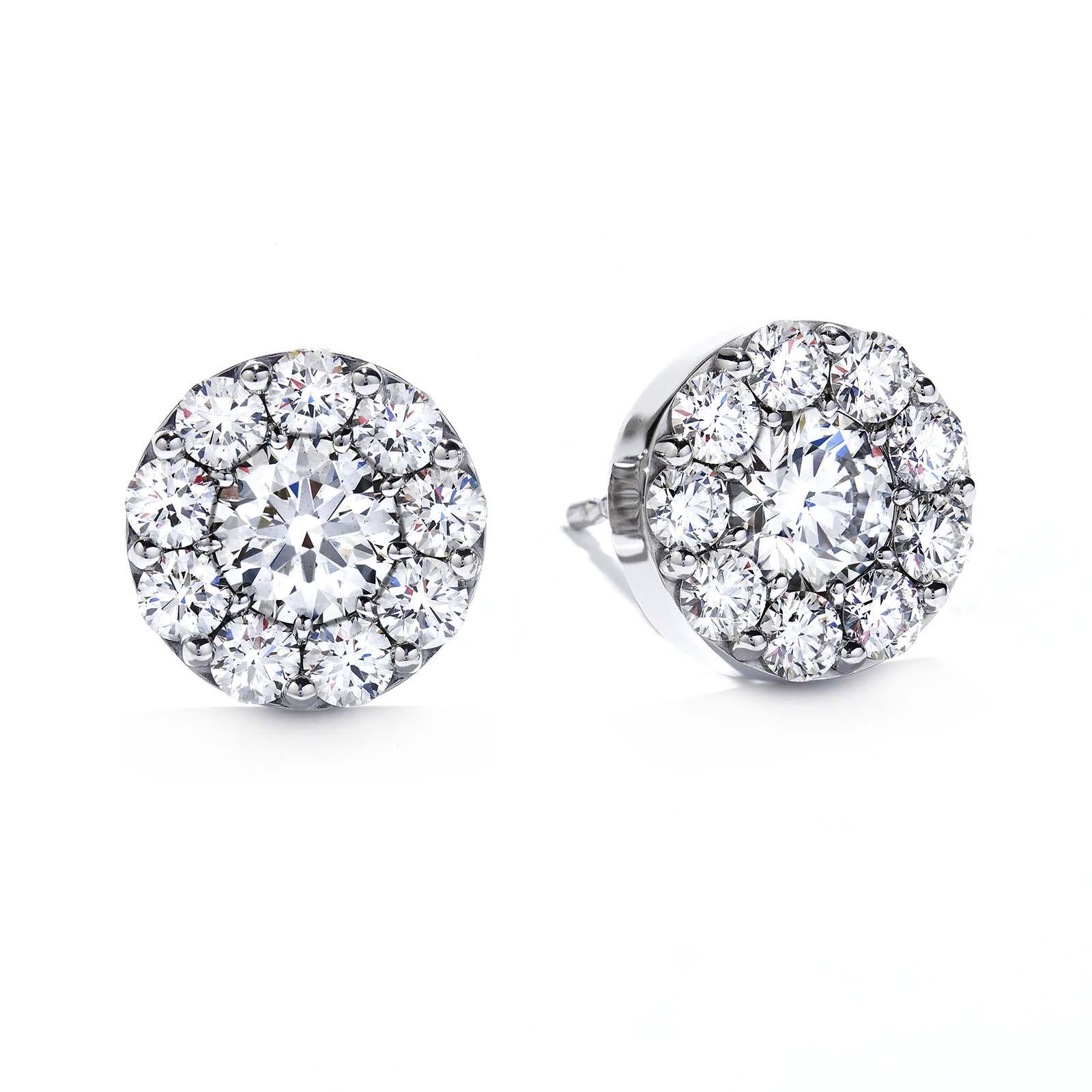 New Hearts On Fire® 0.97 CTW Diamond Fulfillment Earrings