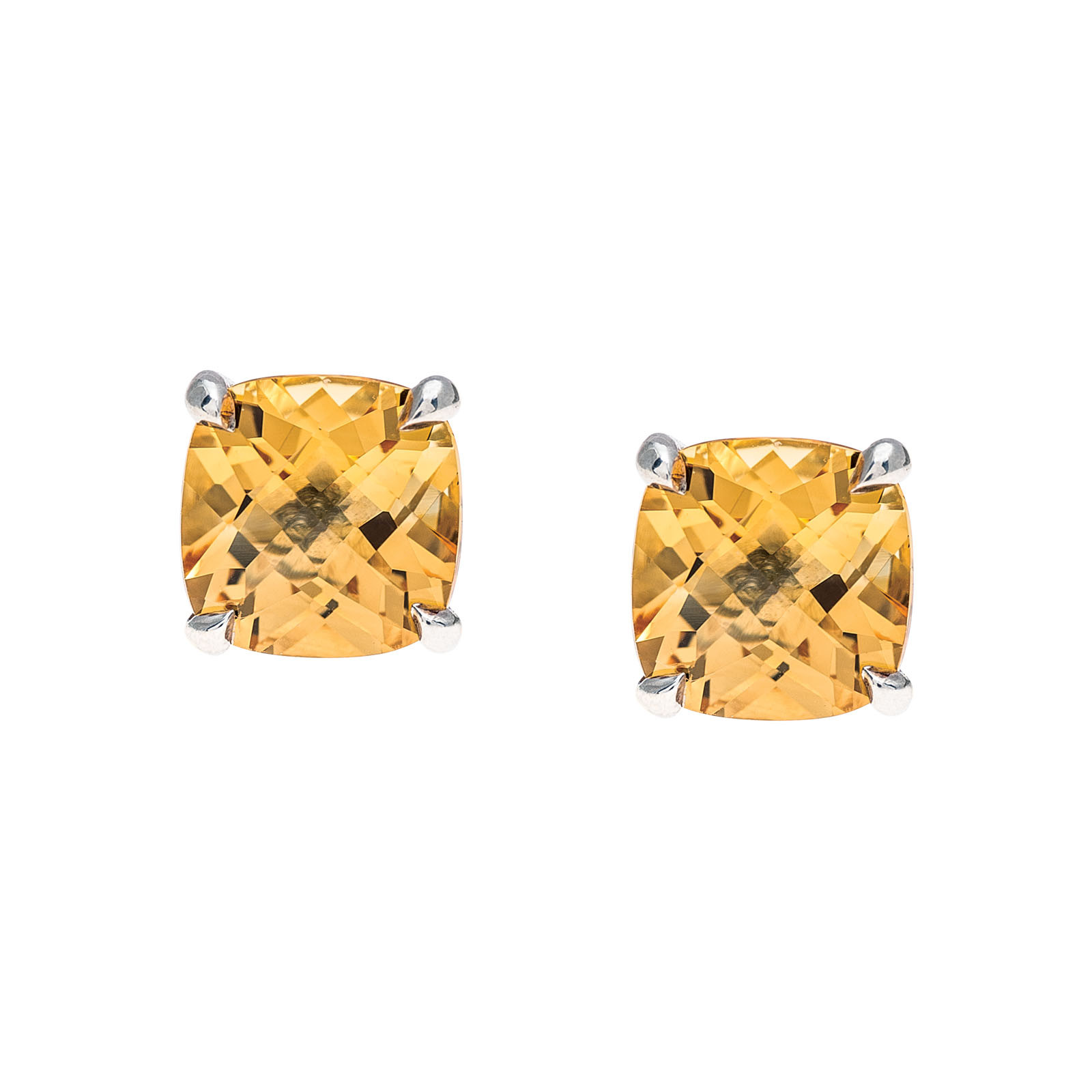 Vintage Tiffany & Co. Sparklers Citrine Earrings