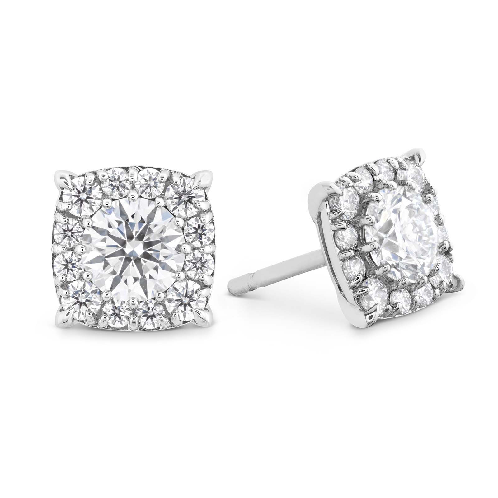 New Hearts On Fire® 0.47 CTW Diamond Halo Earrings