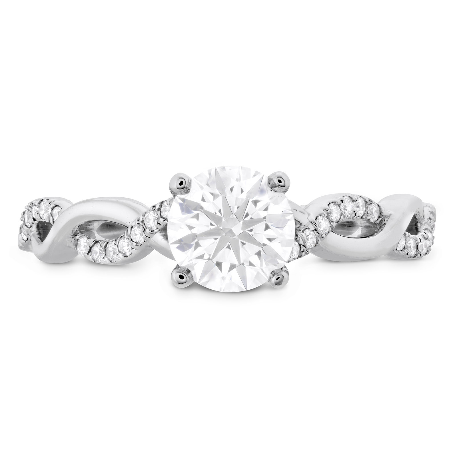 New Hearts On Fire® 1.194 CTW Diamond Destiny Lace Engagement Ring