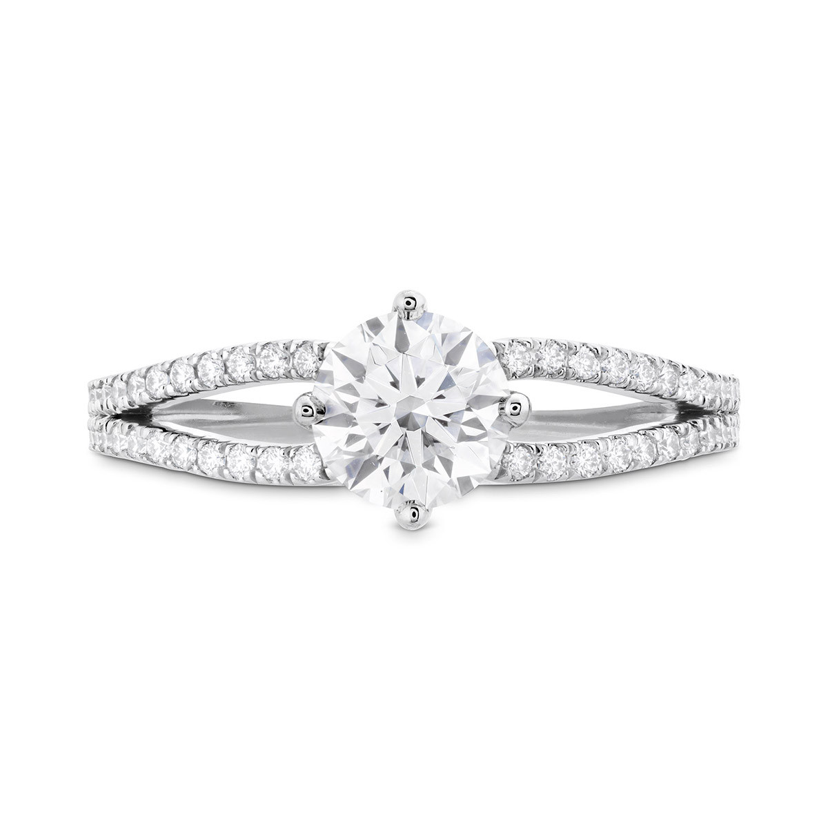 New Hearts On Fire® 0.25 CTW Diamond Brielle Engagement Ring Setting
