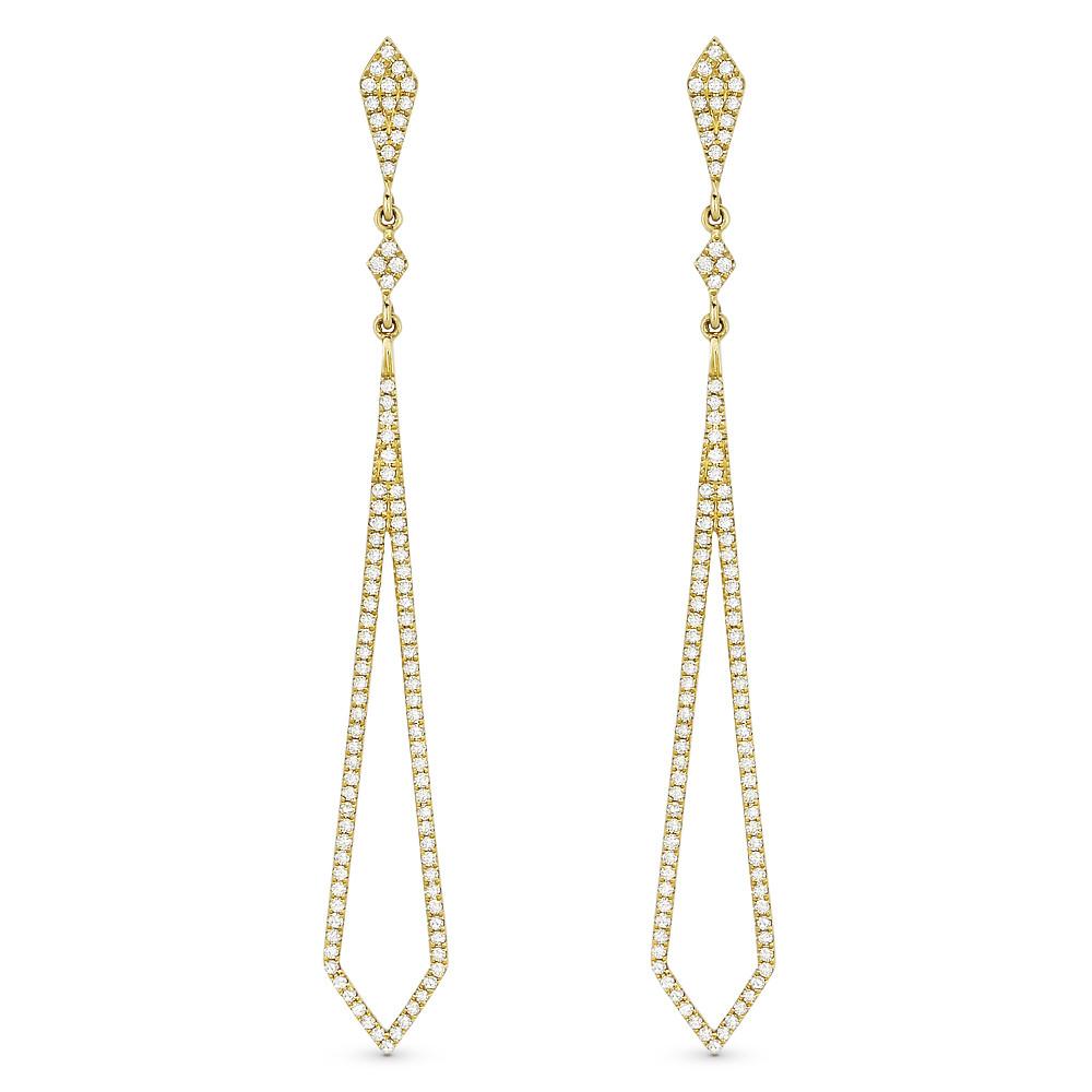 New Madison L 0.43 CTW Diamond Stiletto Earrings