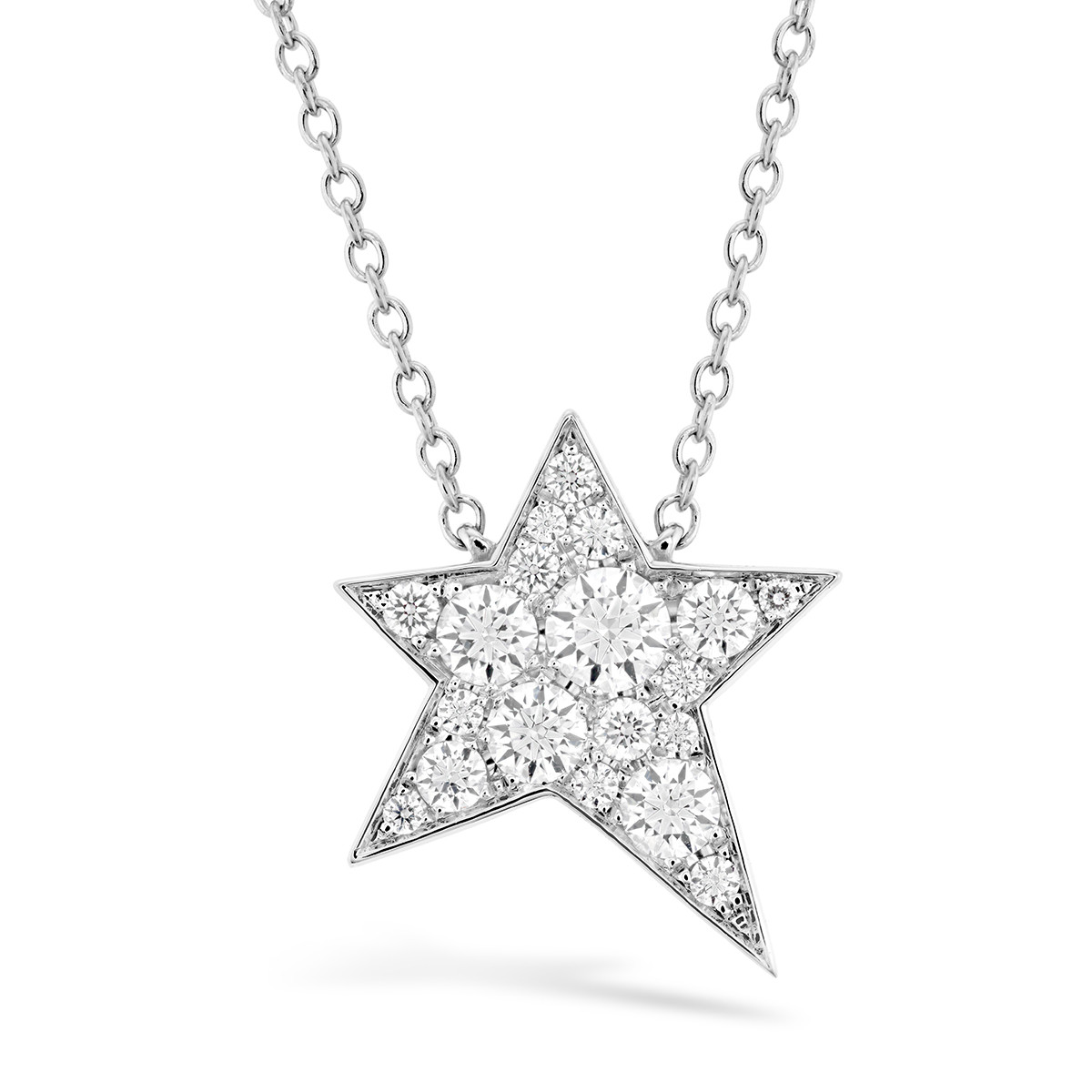New Hearts On Fire® 0.16 CTW Diamond Illa Cosmic Diamond Necklace
