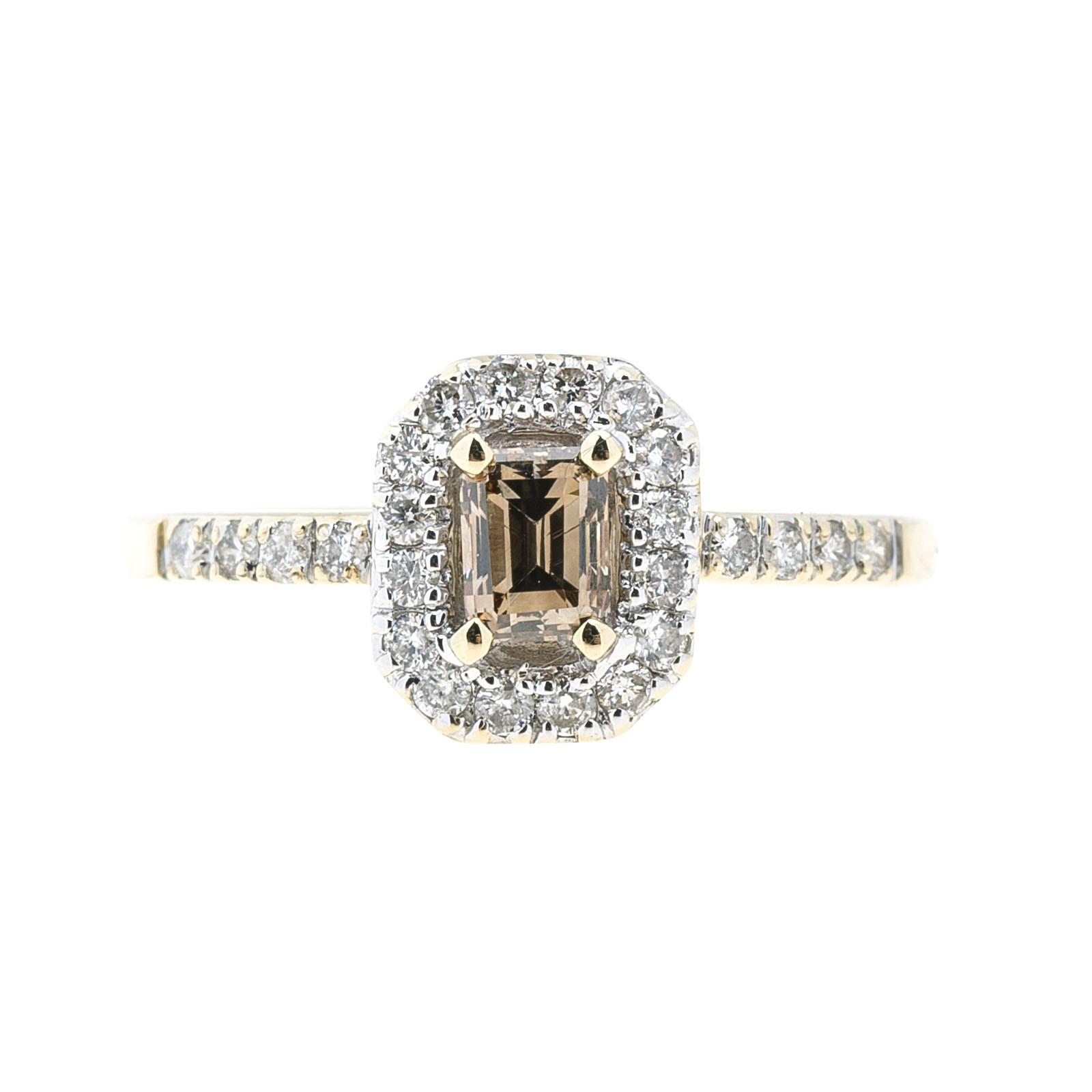 Vintage 0.62 CTW Diamond Engagement Ring