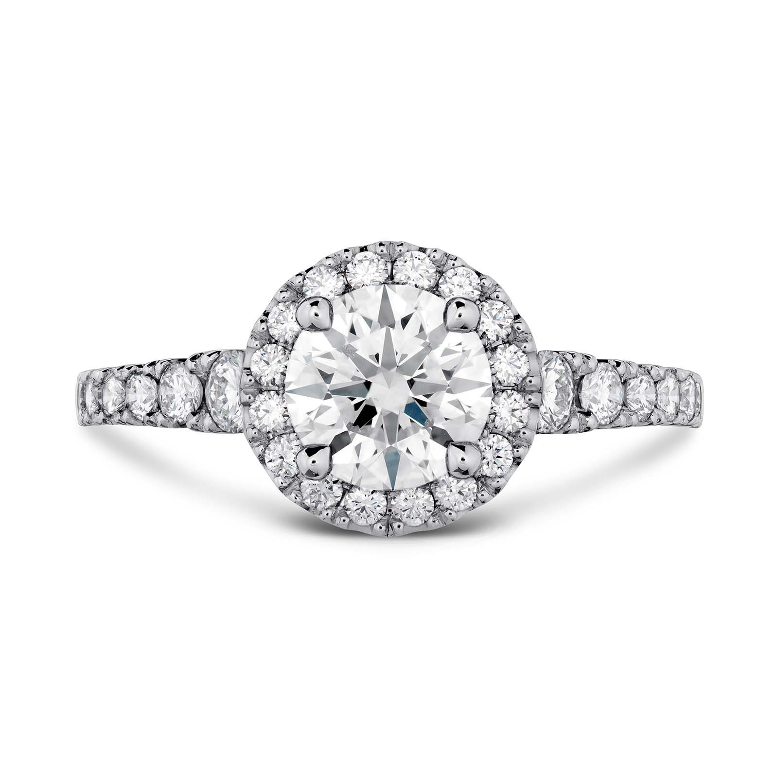 New Hearts On Fire® 2.69 CTW Diamond Transcend Premier Halo Ring