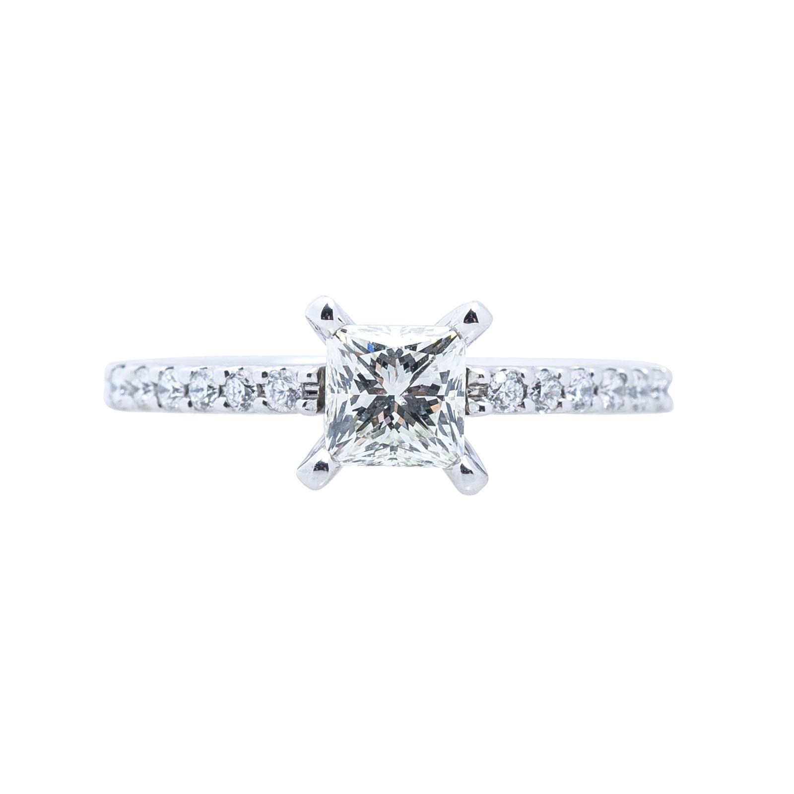 Vintage 0.84 CTW Diamond Engagement Ring