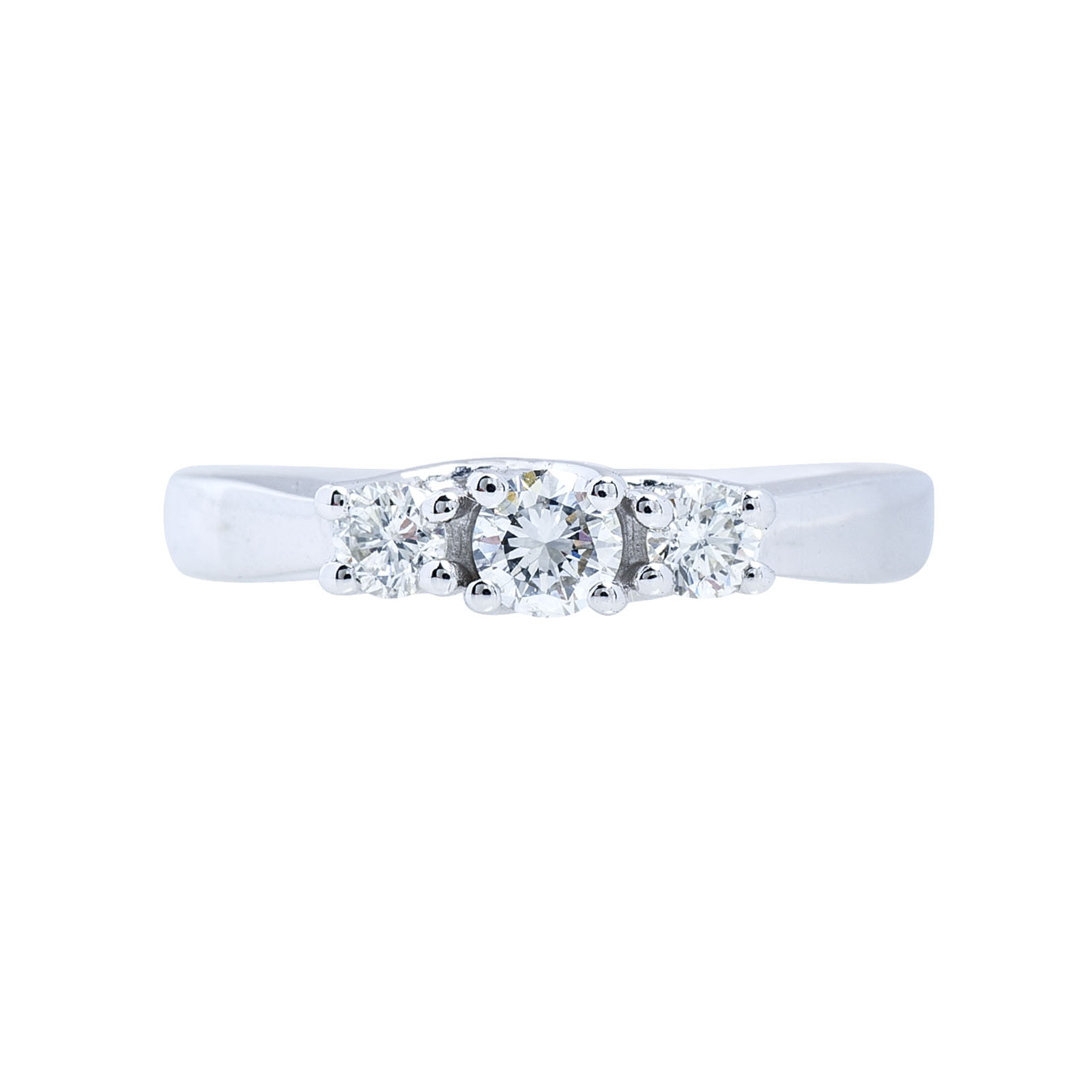 New 0.46 CTW Diamond Engagement Ring