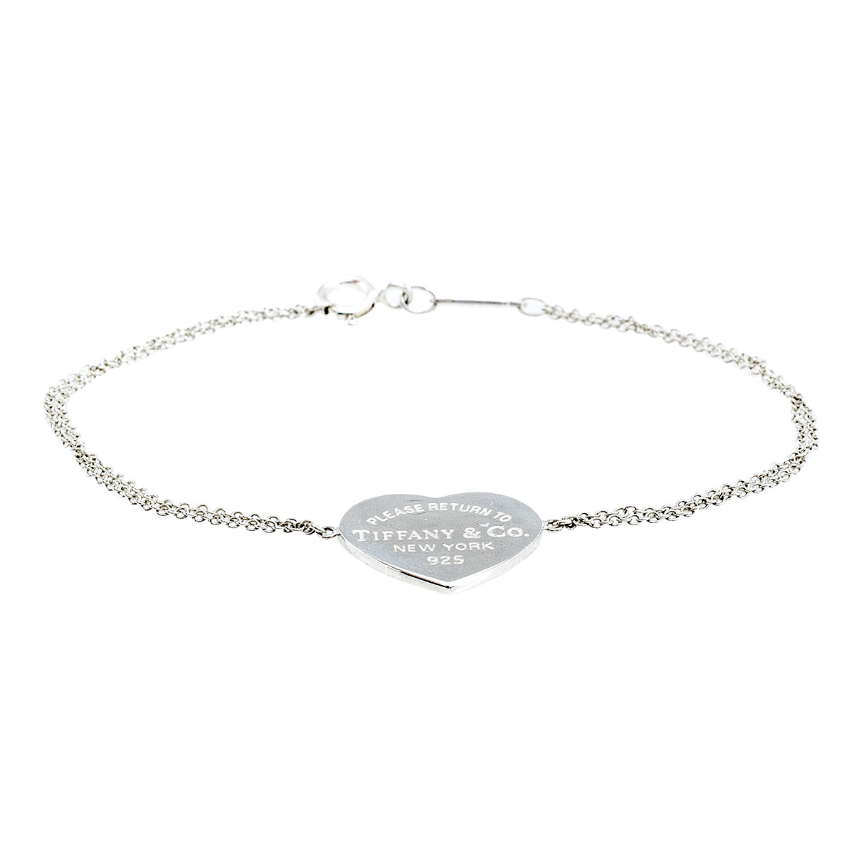 Vintage Tiffany & Co. Please Return To Tiffany Heart Bracelet