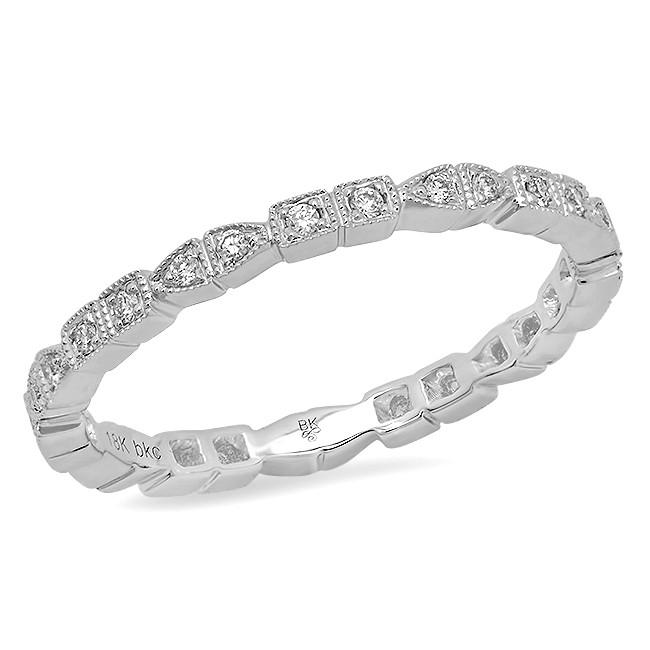 New Beverley K 0.17 CTW Diamond Eternity Band