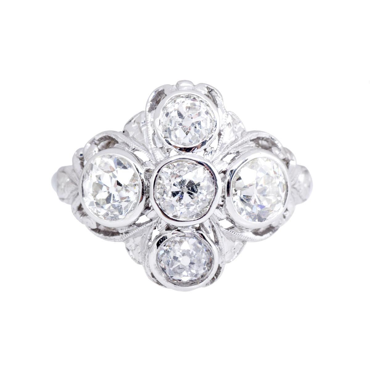 Antique Edwardian 2.25 CTW Diamond Ring