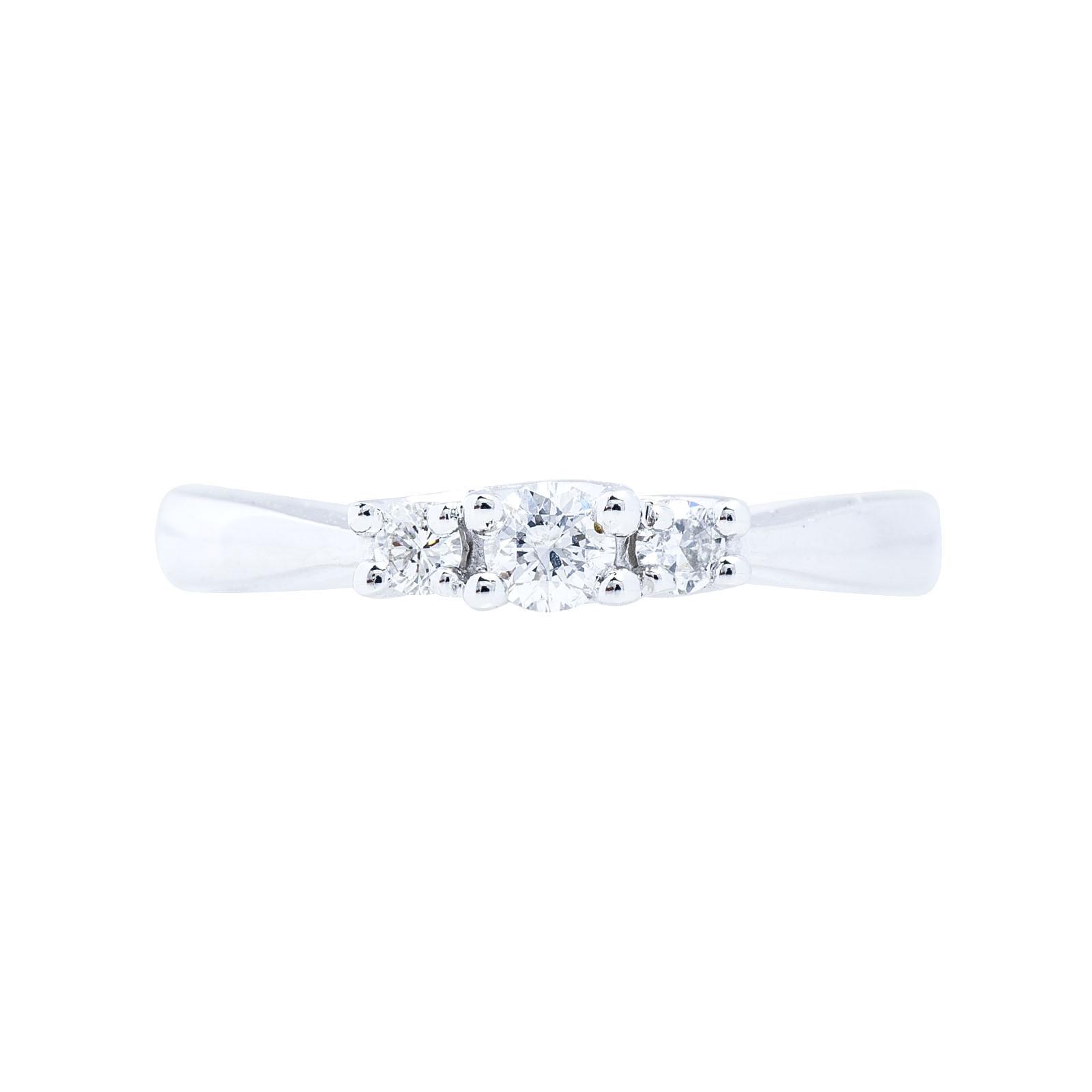 New 0.25 CTW Diamond Engagement Ring