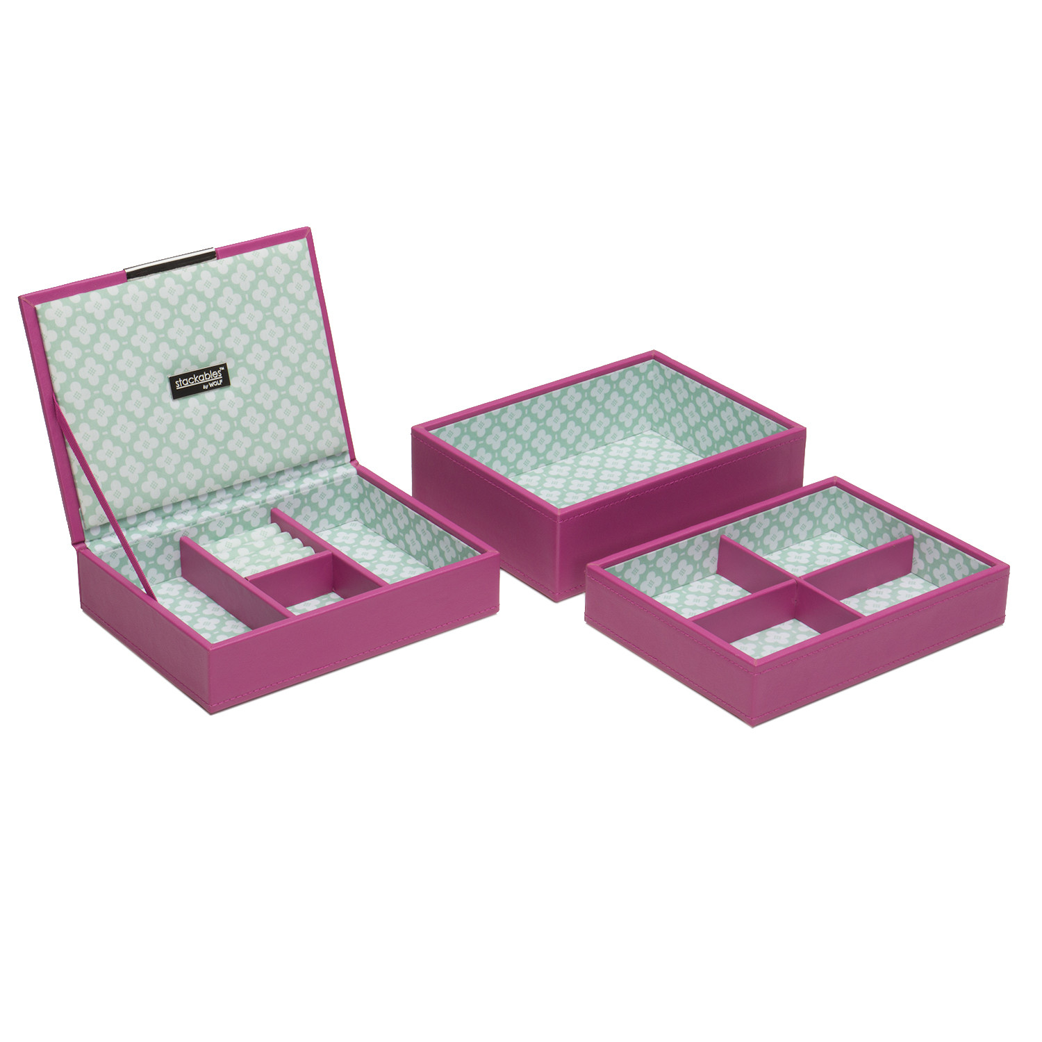 New Wolf Designs Stackable Orchid Jewelry Box