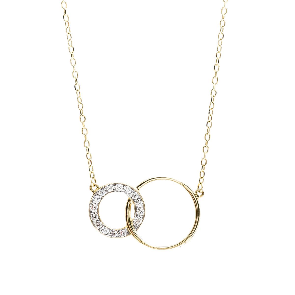 New 0.25 CTW Diamond Interlocking Necklace