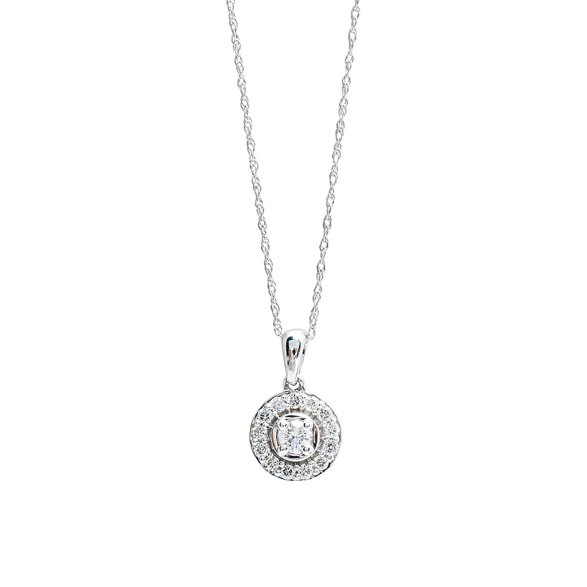 New 0.25 CTW Diamond Necklace