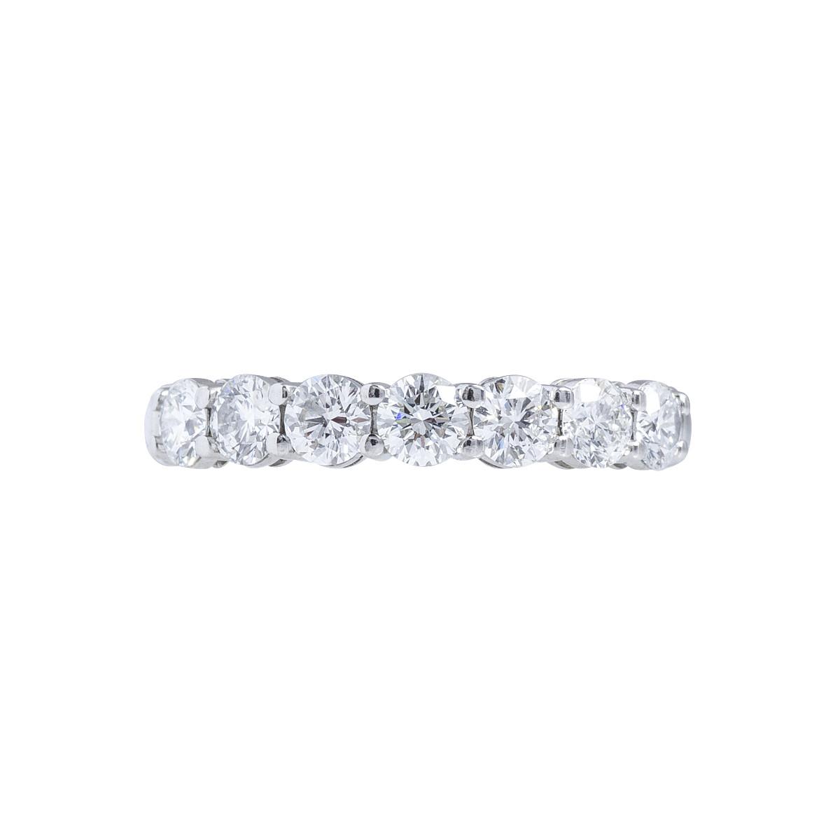 Vintage Tiffany & Co. 0.93 CTW Diamond Anniversary Band