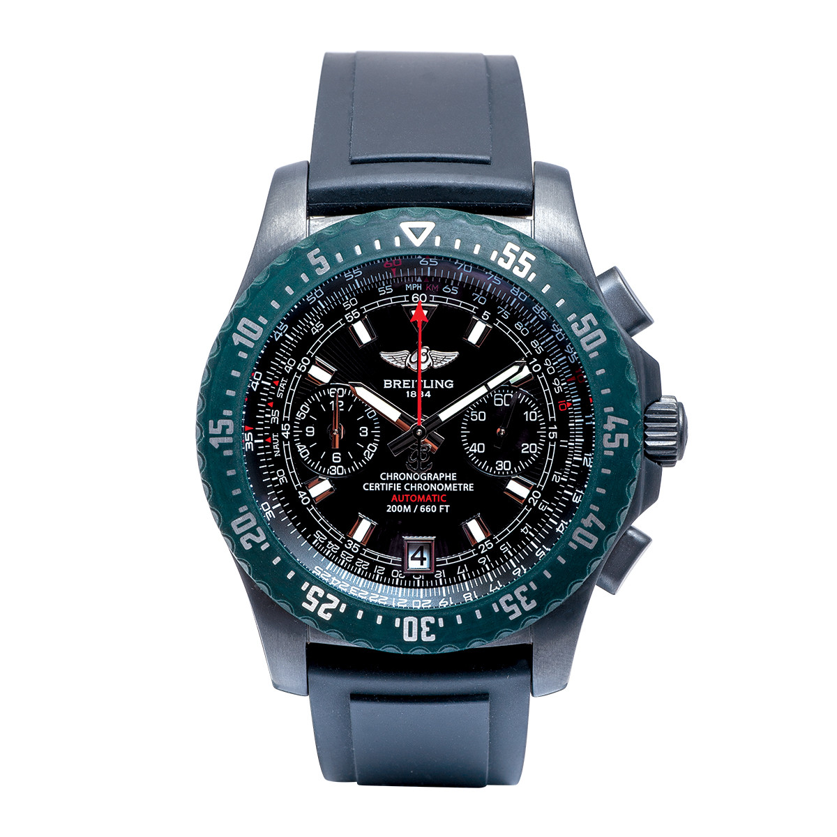 Pre-Owned Men's Breitling Skyracer Raven Limited Edition