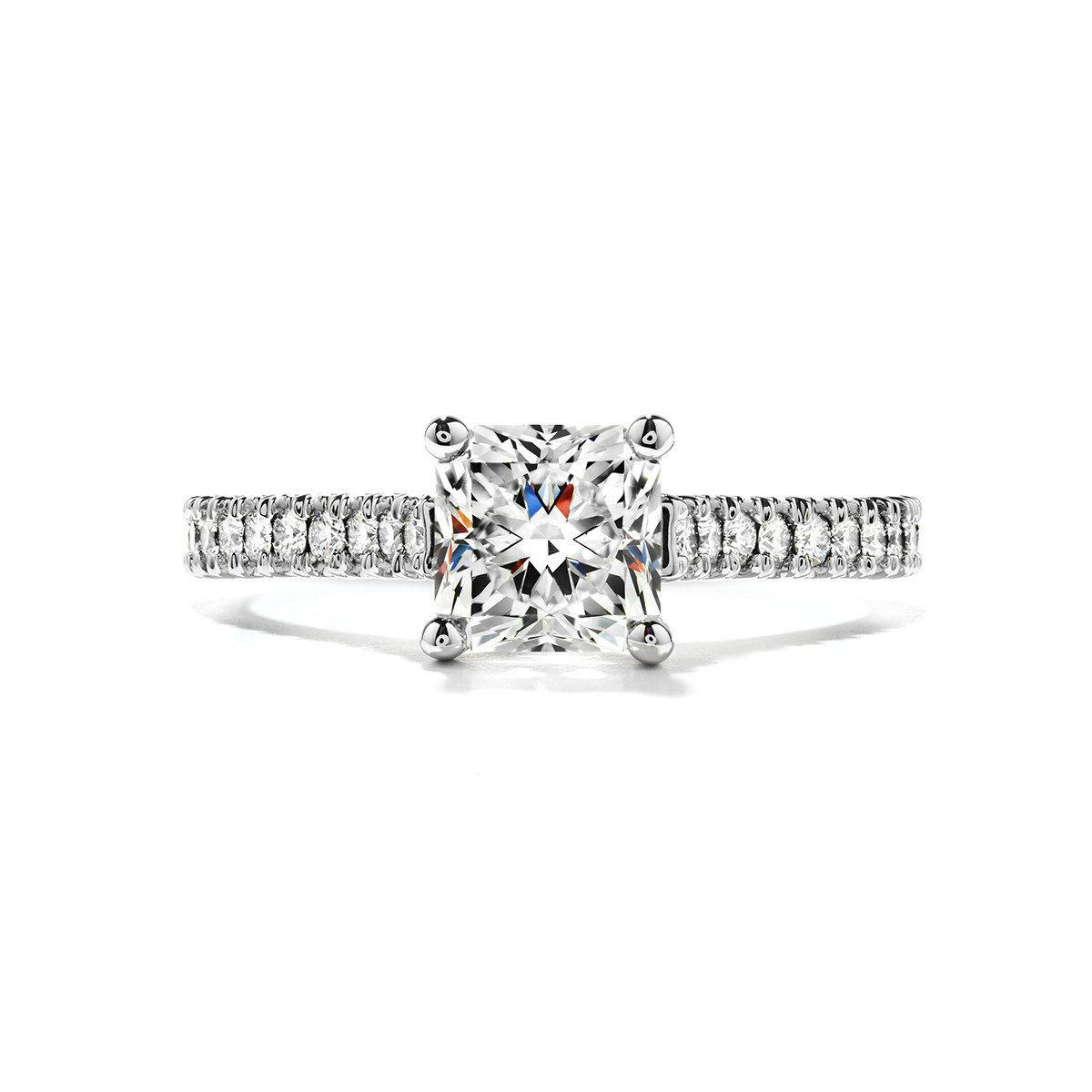 New Hearts On Fire® 0.70 CTW Diamond Enticement Engagement Ring Setting