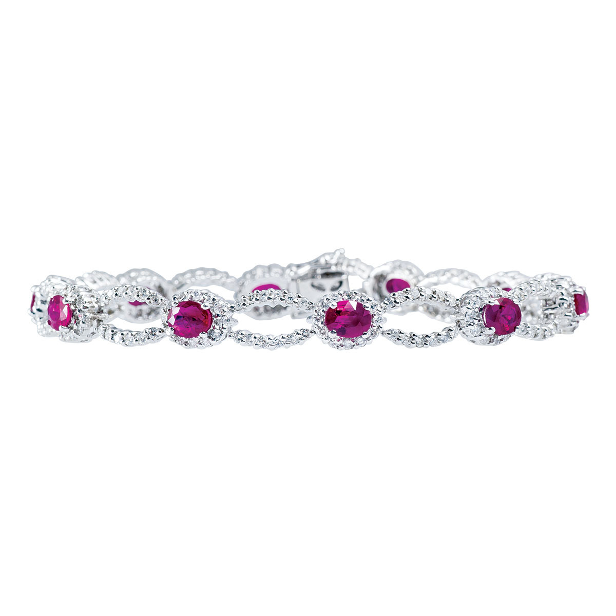 Vintage 6.00 CTW Diamond & Ruby Bracelet