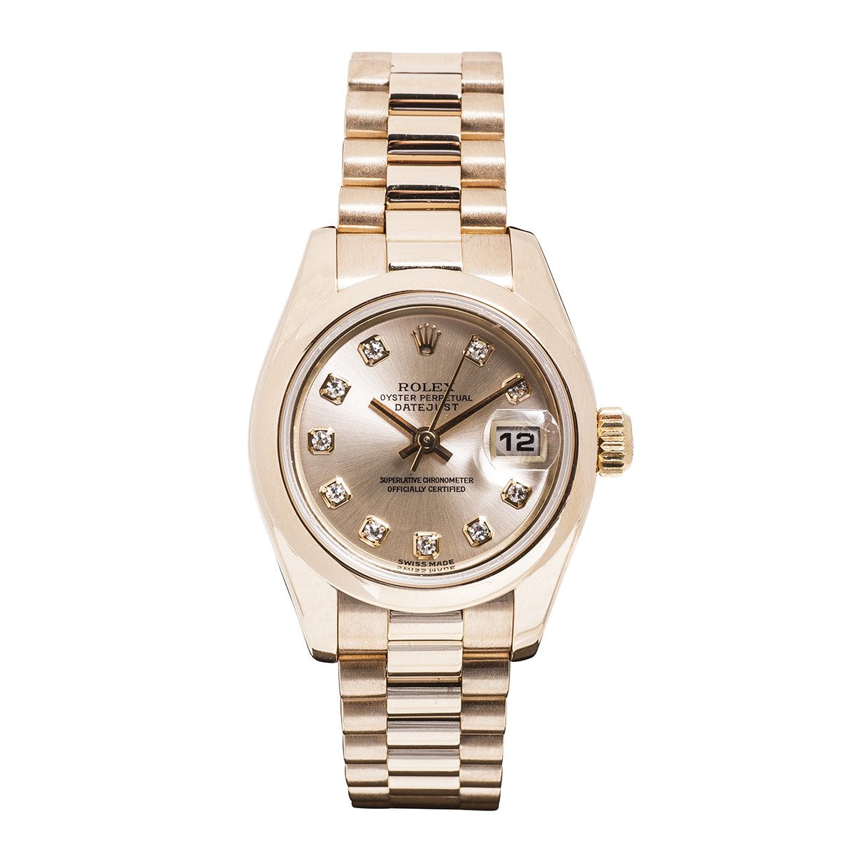 Pre-Owned Woman's Rolex Datejust President