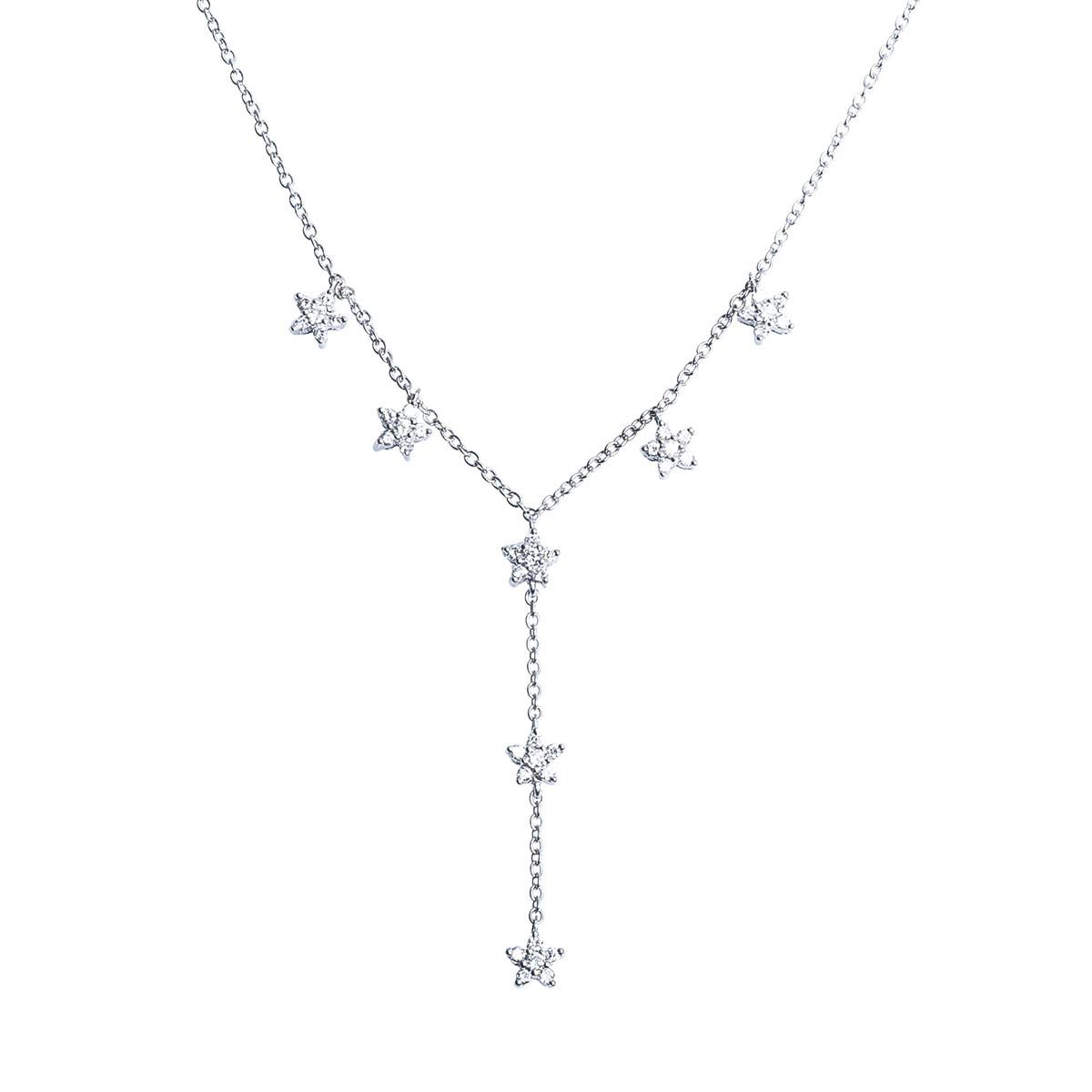 Vintage 0.49 CTW Diamond Necklace
