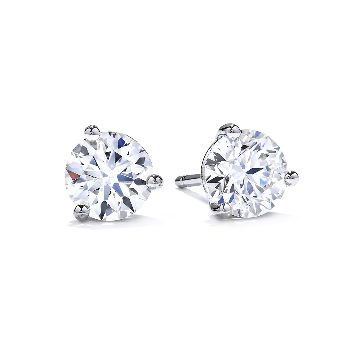 New Hearts On Fire® 2.05 CTW Diamond Stud Earrings