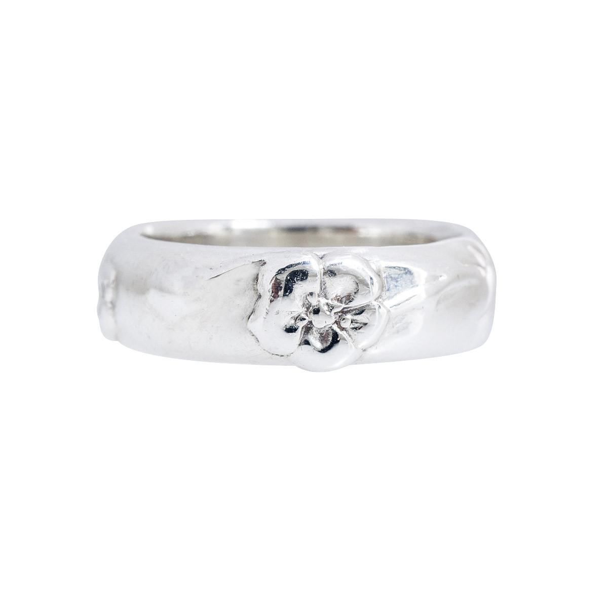 Vintage Tiffany & Co. Nature Rose Ring