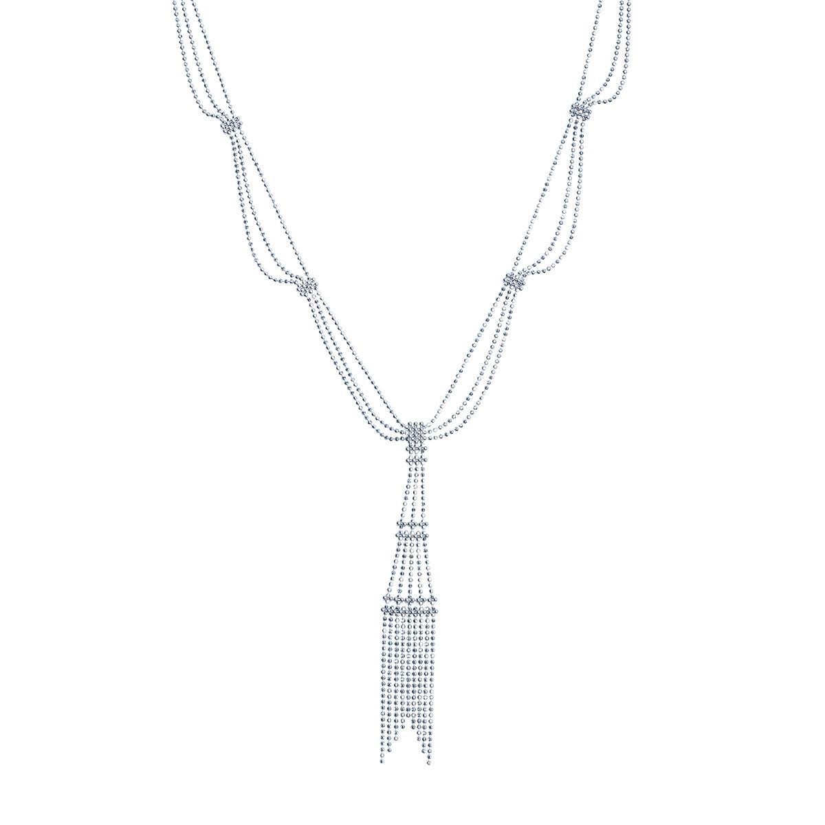 Vintage Tiffany & Co. Fringe Tower Necklace