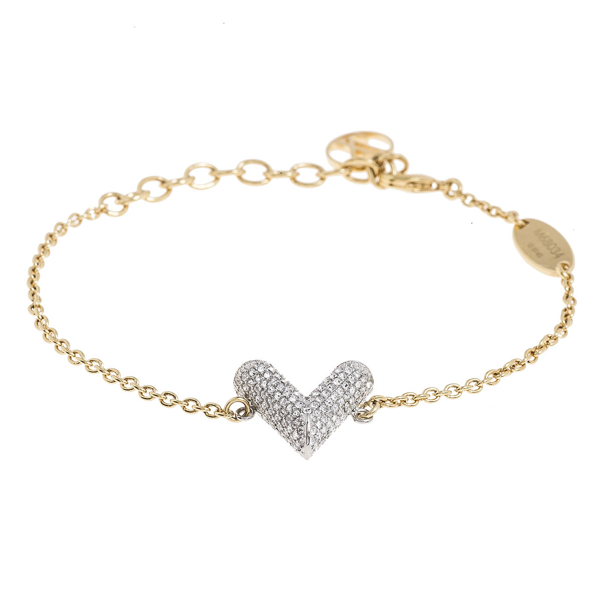 "Vintage Louis Vuitton Essential ""V"" Strass Bracelet"