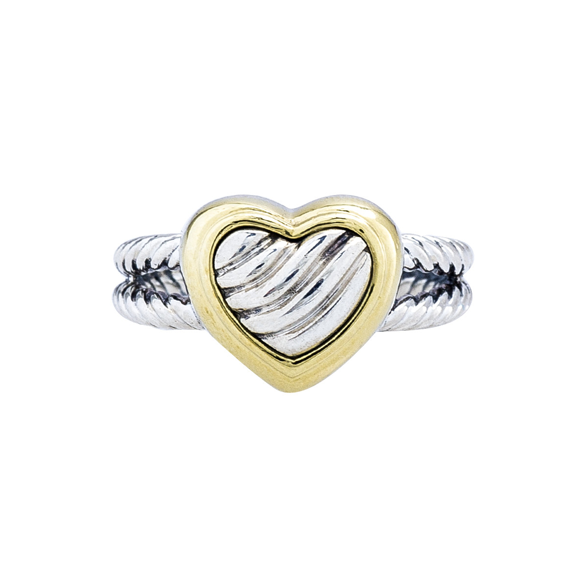 Vintage David Yurman Cable Classics Heart Ring
