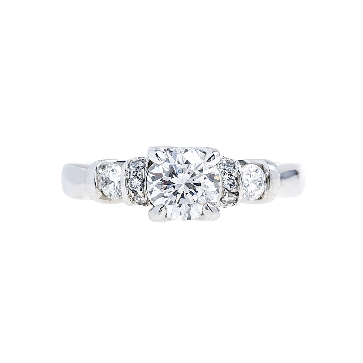 Vintage Verragio 1.01 CTW Diamond Ring