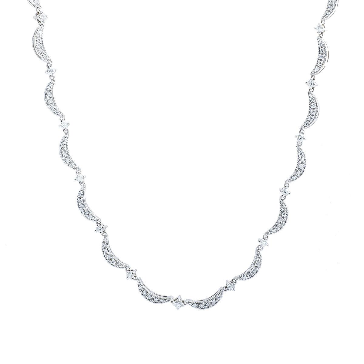 Vintage Effy 2.00 CTW Diamond Necklace