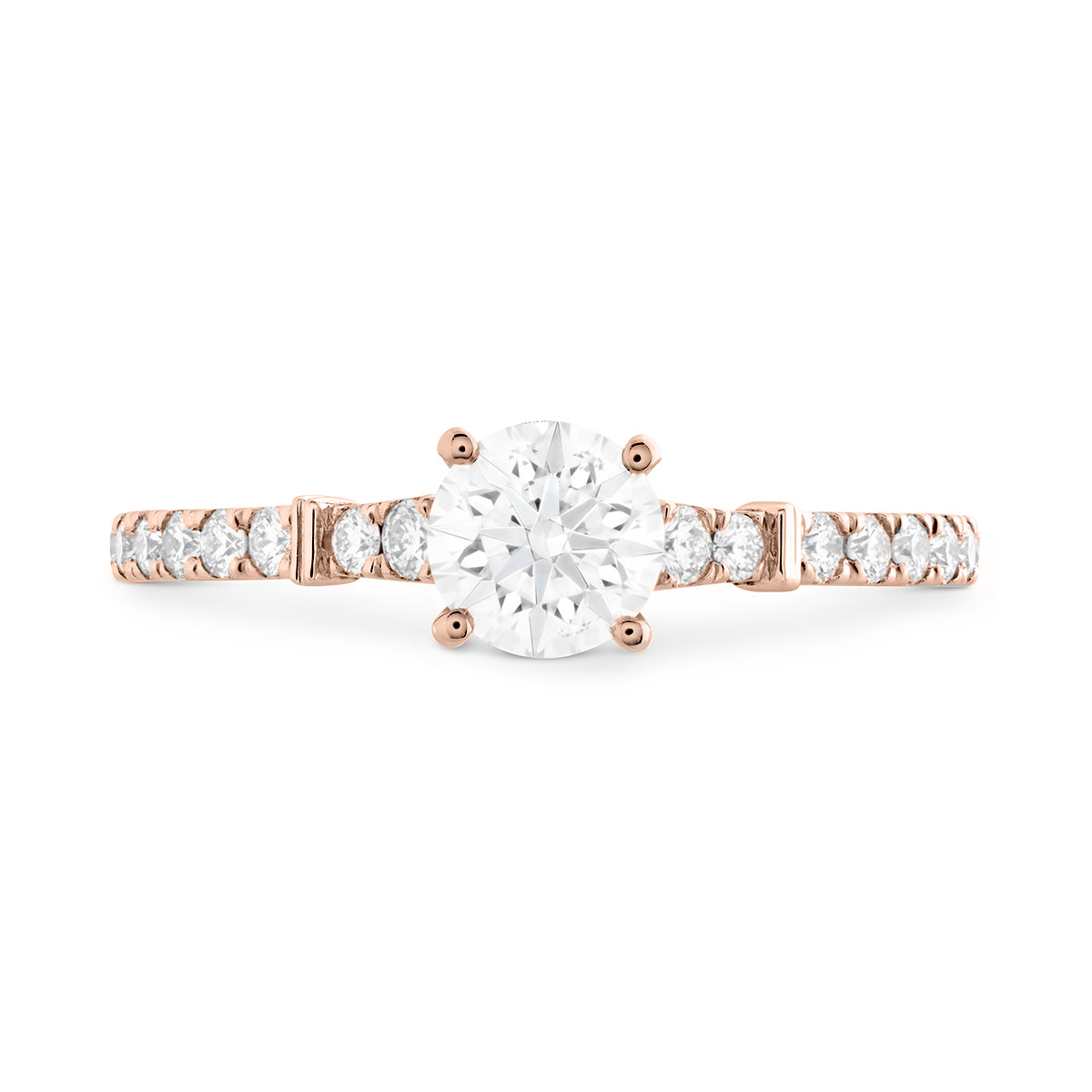 New Hearts On Fire® 0.81 CTW Diamond Cali Chic Engagement Ring