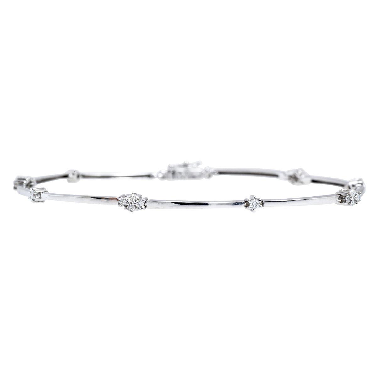 Vintage 0.25 CTW Diamond Bracelet