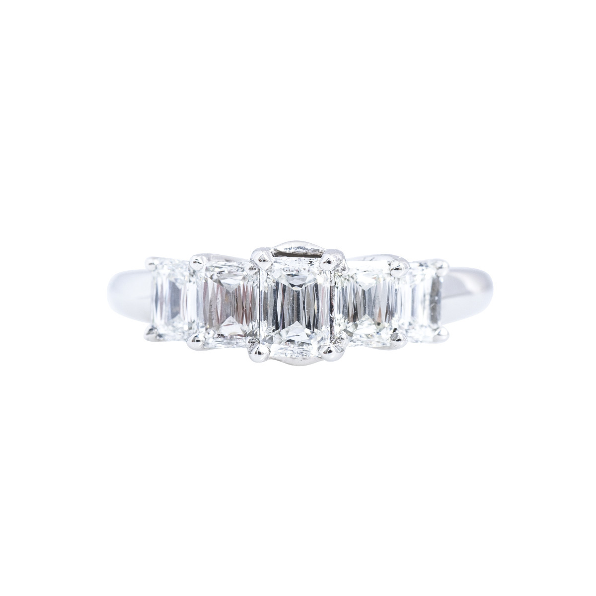 Vintage 0.95 CTW Diamond Ring