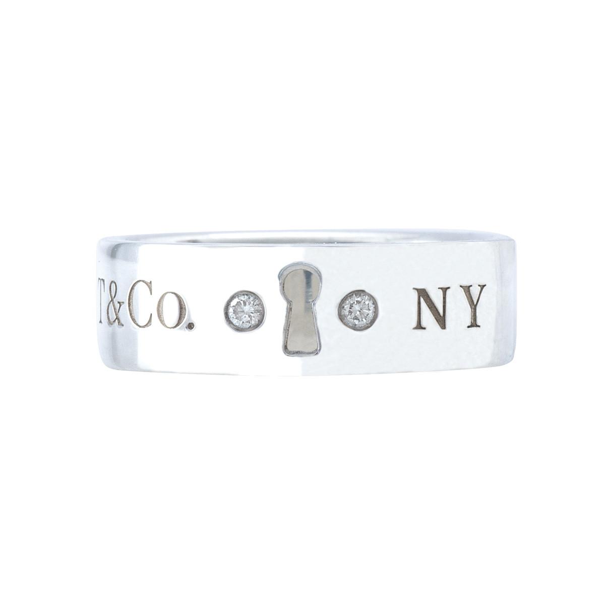 Vintage Tiffany & Co. Diamond Locks Ring
