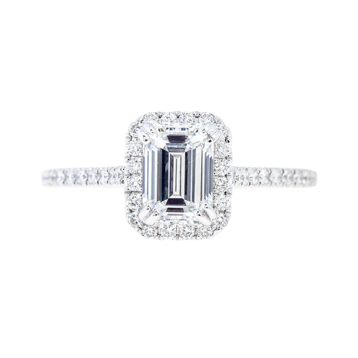 New Venetti 1.43 CTW Diamond Halo Engagement Ring