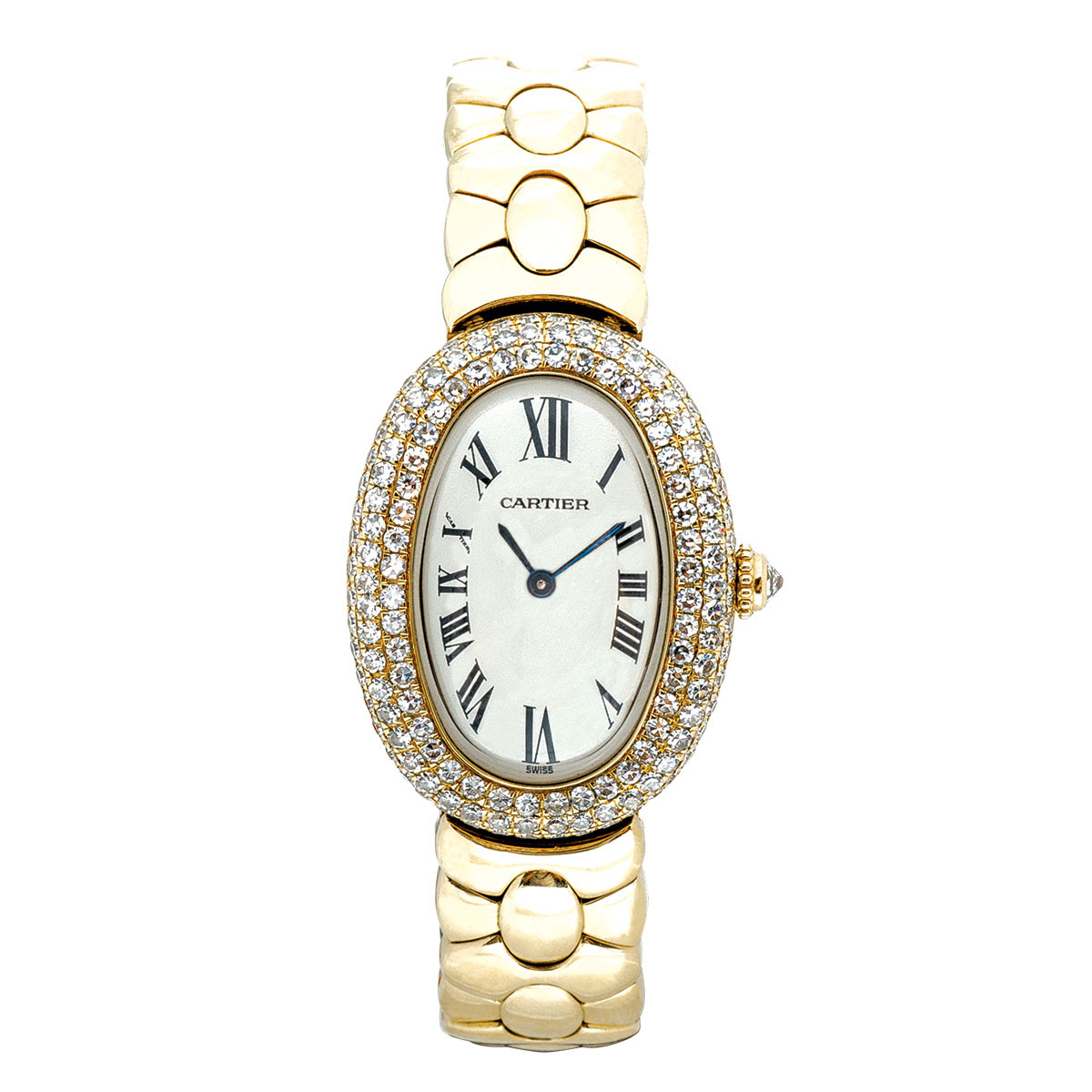 Pre-Owned Women's Cartier Baignoire Joaillerie 1950