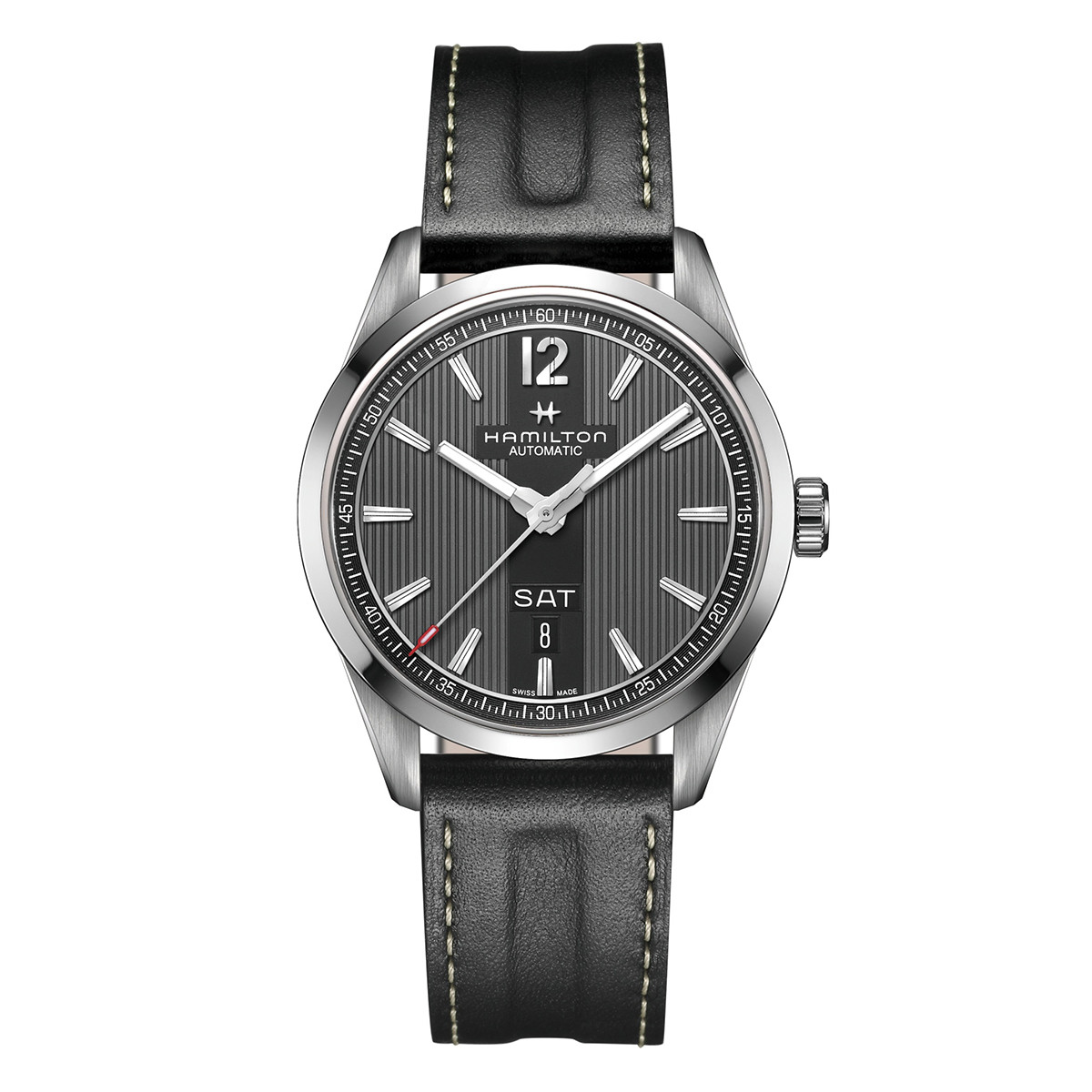 New Men's Hamilton Broadway Day Date Auto