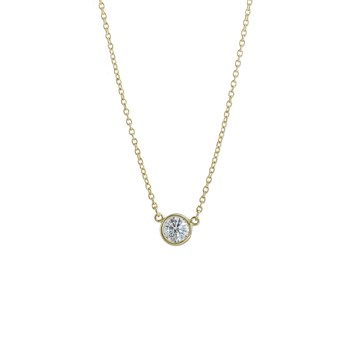 Vintage Tiffany & Co. Elsa Peretti 0.37 CT Diamonds By The Yard Necklace