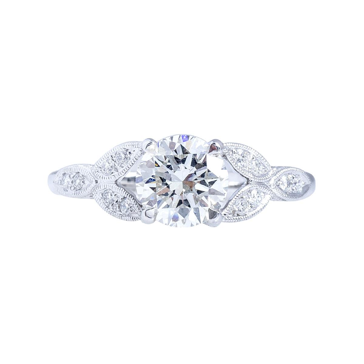 New Beverley K 0.12 CTW Diamond Engagement Ring