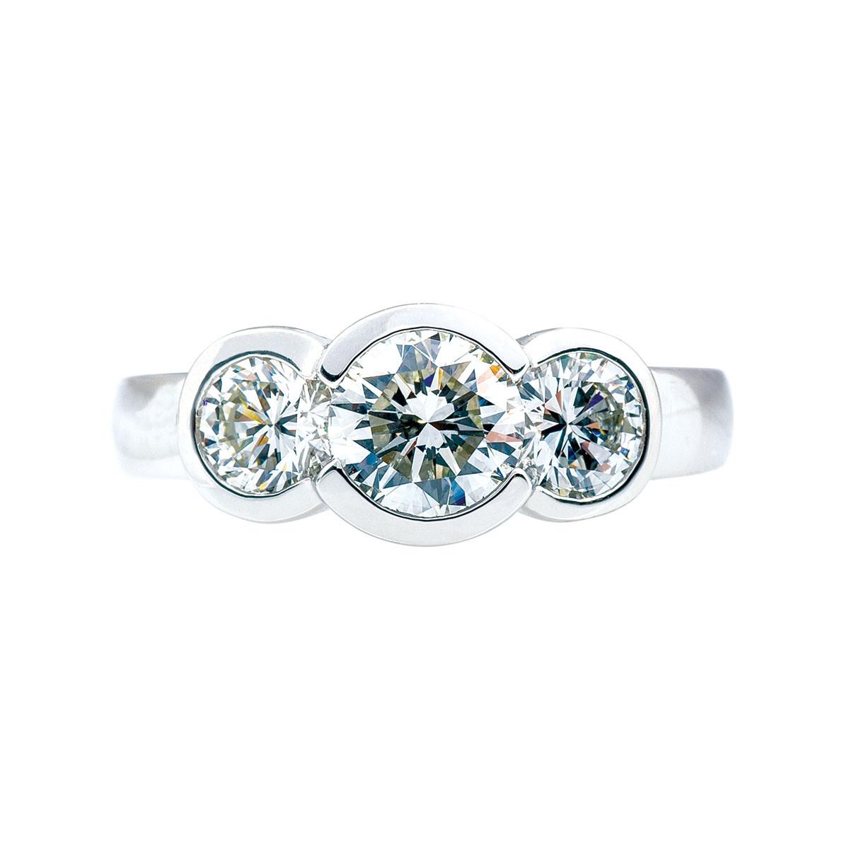 Vintage 2.13 CTW Diamond Engagement Ring