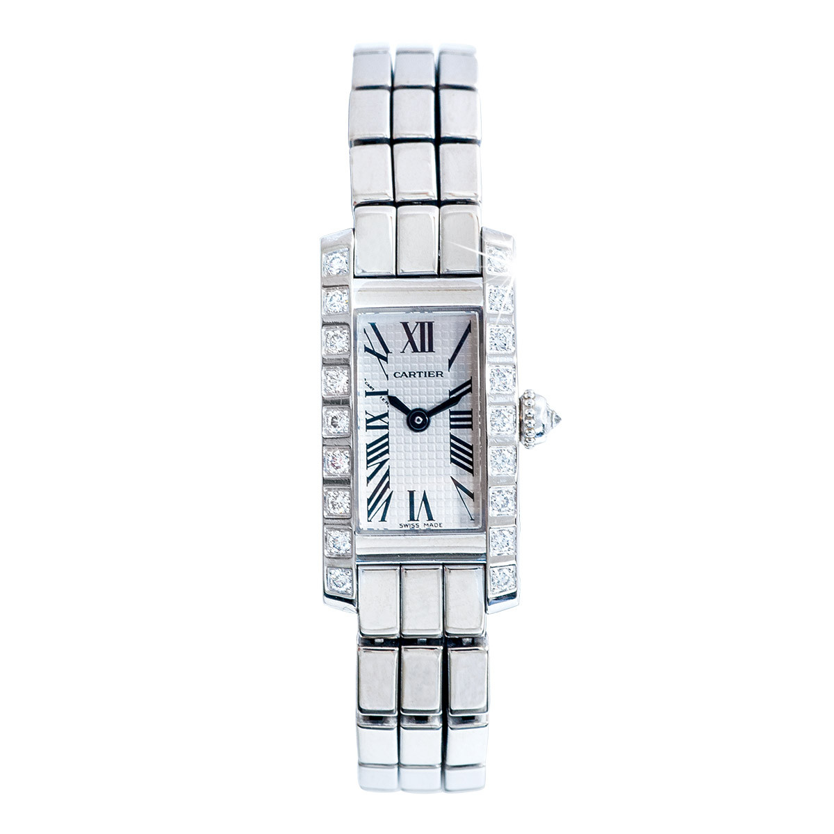 Pre-Owned Woman's Cartier Tank Allongee