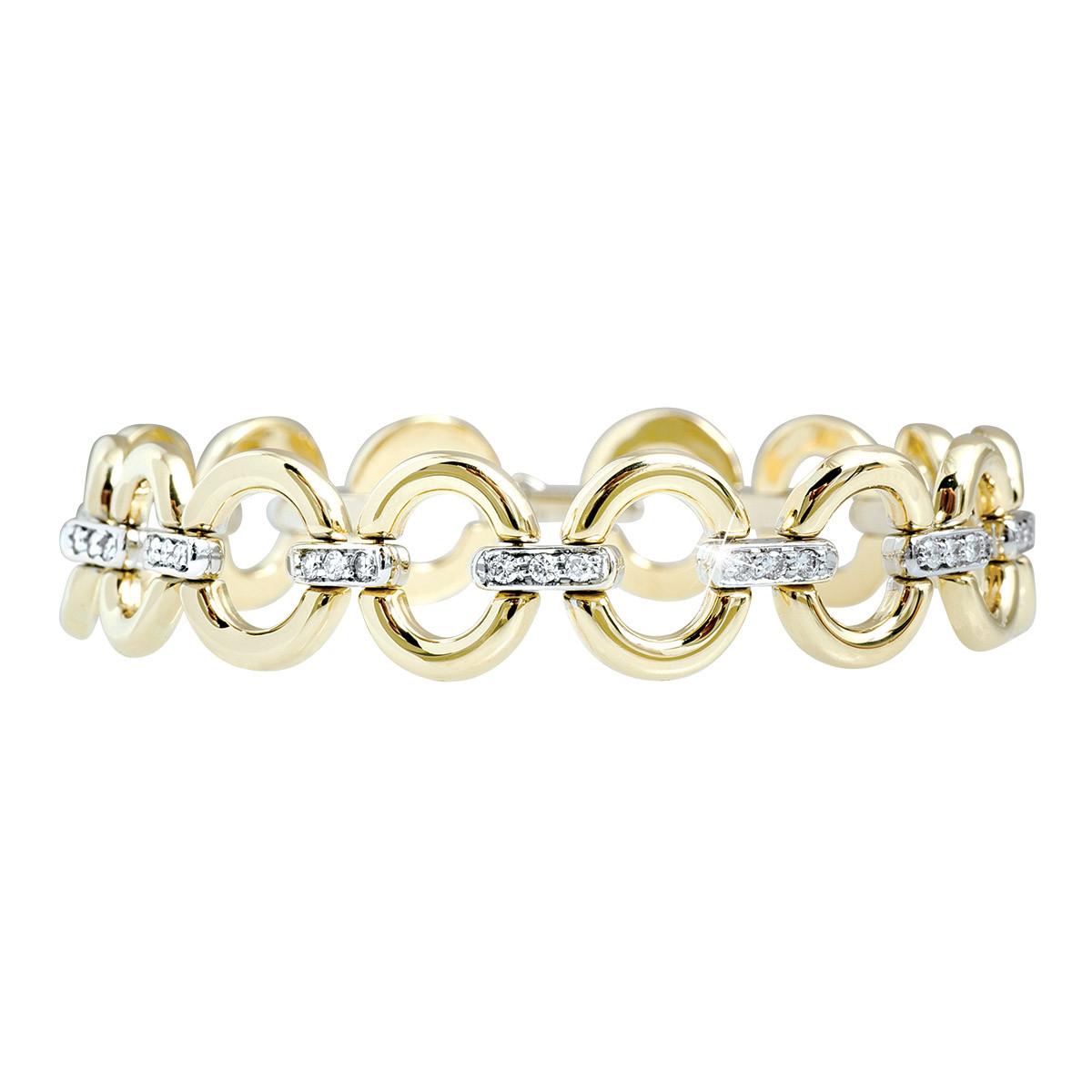 Vintage 0.50 CTW Diamond Bracelet
