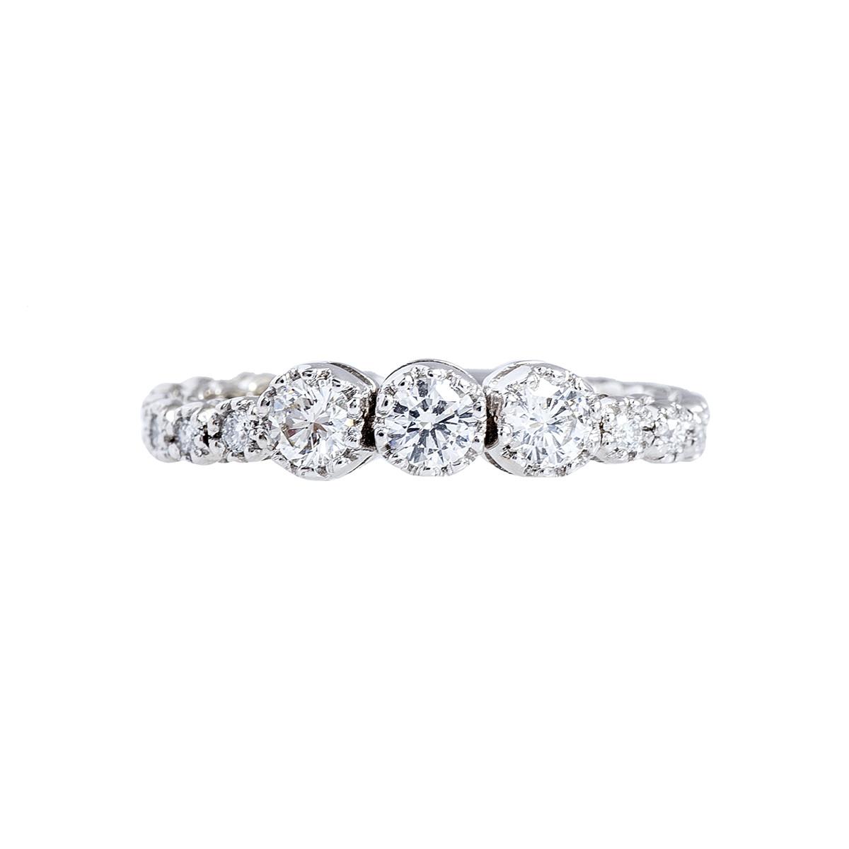 Vintage 0.59 CTW Diamond Ring