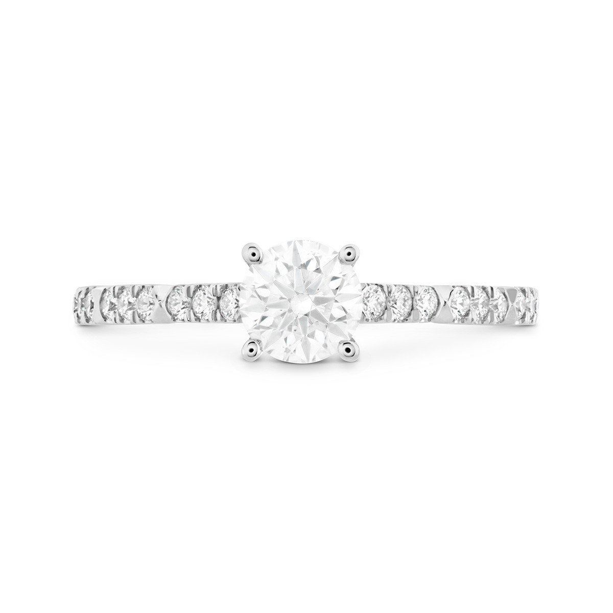 New Hearts On Fire® 0.89 CTW Diamond Cali Chic Engagement Ring