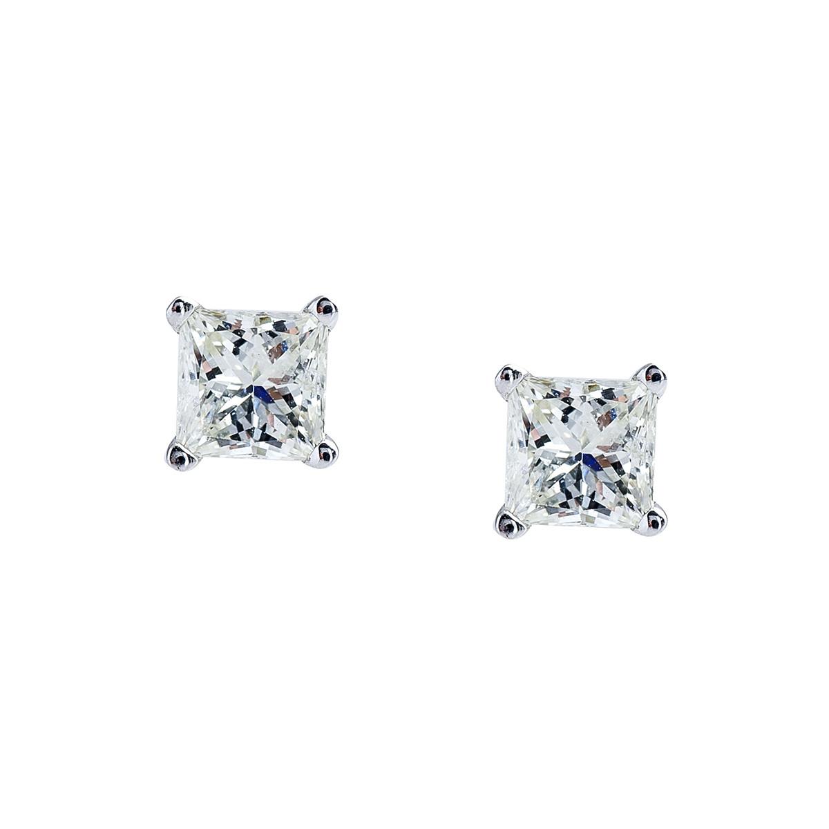 New 0.50 CTW Diamond Stud Earrings