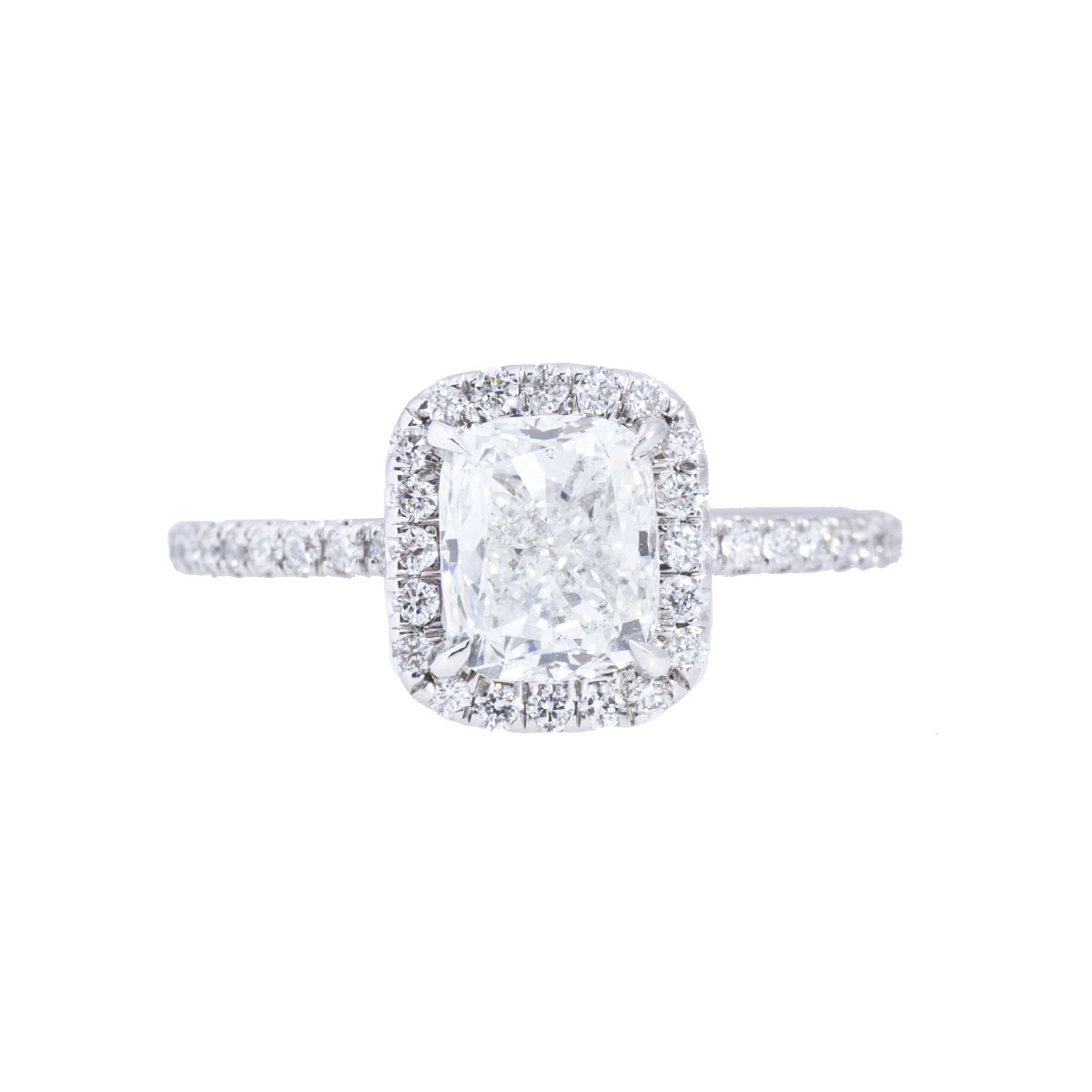 Vintage 2.00 CTW Diamond Halo Engagement Ring