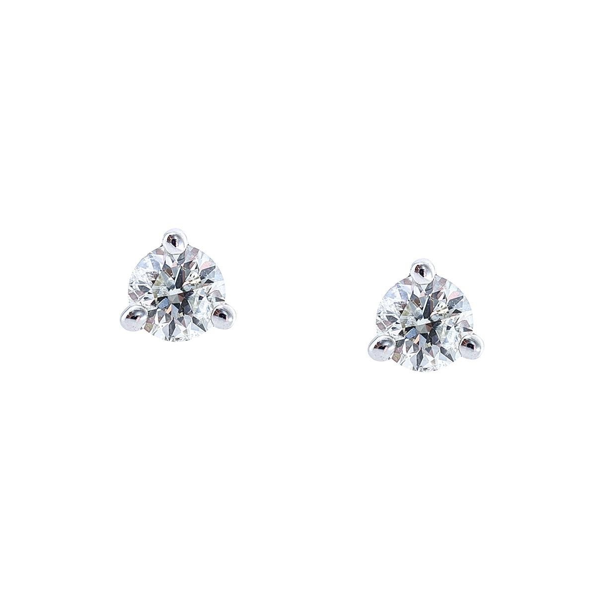 New 0.25 CTW Diamond Stud Earrings