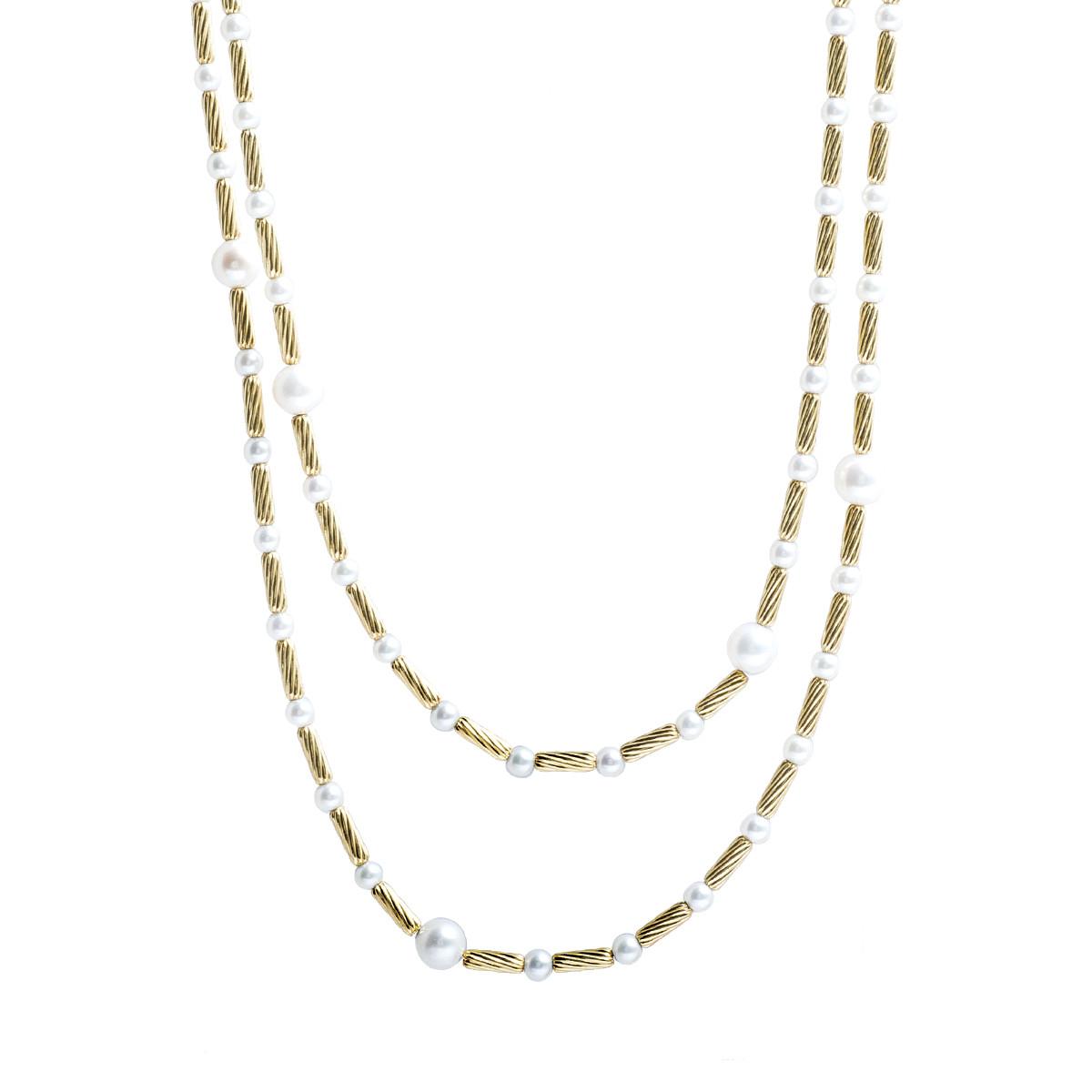 Vintage David Yurman Pearl Necklace